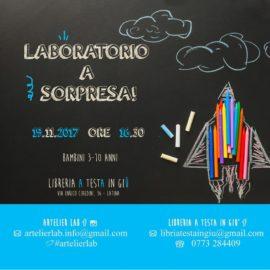 Facciamo arte: laboratorio a sorpresa!