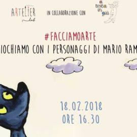 Facciamo arte: giochiamo coi personaggi di Mario Ramos