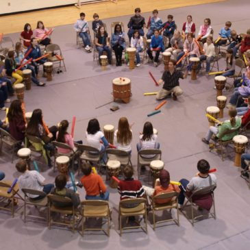 Drum circle: il battito delle parole
